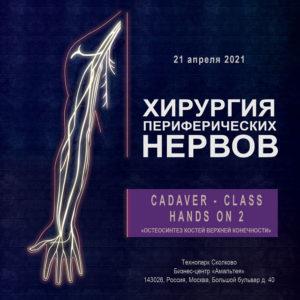 Cadaver — class Hands ON 2 «Остеосинтез костей верхней конечности»
